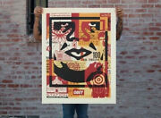 Obey Collage Icon Bottom Large Format Limited Numbered Edition Of 70