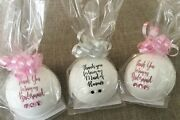 Wedding Bridal Party Gifts/favours.unique Role Personalised Bath Bombs