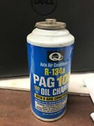 Lot Of 10 R-134a Refrigerant Pag 100 Oil Charge Auto Air Conditioner 3oz