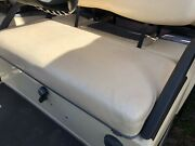 Club Car Ds Seat Bottom Cover - Oem Beige 2000 And Up 101998201