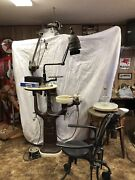 Early 30and039s Vintage Dental Chair Tools And Equipment - Reduced Price