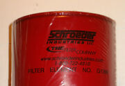 Lot Of 4 Schroeder Hydraulic Oil Filters Spin-on Pn G1399 New Element W/ Gasket