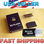 Ez-flash Omega New Gba/sp/nds Game Boy Advance Free Micro Sd Reader Usa Seller