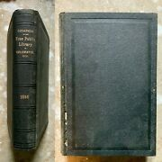 Catalogue Of The Free Public Library Of Coldwater Michigan 1st 1896 Parkhurst