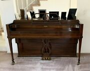 Spinet Piano Winter And Company New York Musette 1950's Antique Vintage Upright