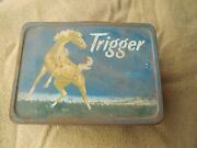 Vintage Trigger Lunch Box By The American Thermos Bottle Co. Steel Original