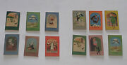 12 X Miniature Fairy Tales By Hans Christian Andersen In 2 Boxes Childrens 1950