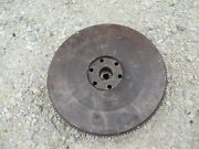 Ford 641 600 Tractor Gas Engine Motor Flywheel And Good Starter Ring Gear Bearing