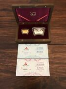 The Commemorative Silver And Gold Coins Of Chinese Ren Chen Year Year Of Dragon