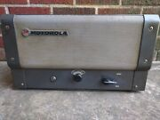 Vintage Motorola Police Radio Guitar Tube Amp Project 60and039s Head Chassis
