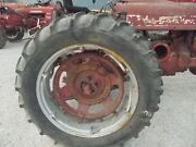 1 13.6 X 38 Tractor Tire 98 Tread Ih 450 400 560 Spin Out Power Adjust Rim