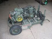 Military Surplus Air Compressor 5cfm 175 Psi Model 20-910 ..-not Working-us Army