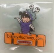 Disney Auctions Pin - Boo In Costume - Da Logo - Limited Edition 50