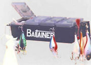Fishing Tackle Box Boat Accessory Bait Holder Holds Jigs Spinners Lures Bait
