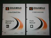 Ditch-witch C16x C24x C30x Trencher Operation Maintenance Parts Manual Book