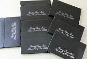 1992 Thru 1998 Us Mint Annual 5 Coin Silver Proof Set Lot 7 Sets 35 Coins