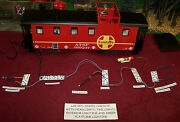 Lgb Style G Scale Steel Caboose Lighting Kit + Head + Tail Lamps + Interior