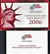 2006-90 Silver-proof-set-united-states-mint-original-government-packaging-box