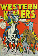 Western Killers 59 Fox Features Comic Golden Age 1948 Fn/fn+