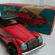 Mg 4520 Tin Toys Sports Car Red Mini Car Antique Collection Made In Japan 1p