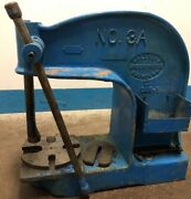 Vintage Industrial Greenerd No. 3a 3as1 Model Cast Iron Arbor Press. Our 1
