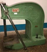Vintage Industrial Greenerd No. 3a 3as1 Model Cast Iron Arbor Press. Our 3