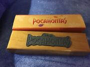 Pocahontas Watch In Wooden Box