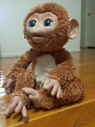 Furreal Friends Cuddles My Giggly Monkey 2012 Hasbro Brown Interactive Toy Doll