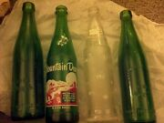 Great Lot - 10 Oz Mountain Dew Hillbilly Bottle / Tab / And 2 1888 Works