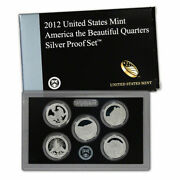 2012 Silver Proof Quarter And 2011 Proof Quarter Sets Us Mint Packaging Cp3611