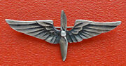 Ww2 Vintage Sterling Silver Sweetheart Us Army Air Force Service Hat Badge