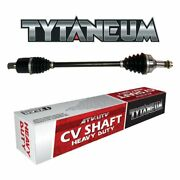 Heavy Duty Rear Left Replacement Cv Axle For Yamaha Yfm660f Grizzly 4x4