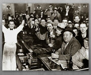Poster - The Night Prohibition Ended - Choose Unframed Poster Or Canvas - Decor