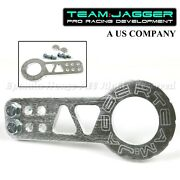 For Acurahondabolt On Jdm Gear Stylesport Billet Silver Front Slotted Tow Hook