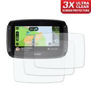 Tomtom Rider 500 / 550 Dashboard Screen Protector 3 X Ultra Clear