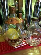 2 Dimple Old Blended Scotch Whisky Bottle . John Haig And Co