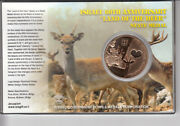 2008 Israel 60th Anniversary State Medal 39mm Bronze Gold Plated Original Case
