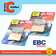 2010 - 2011 Indian Bomber - Front Ebc Hh Rated Sintered Brake Pads - 2 Pair