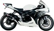 Gsx-r600 11-15 R-77 Race Full Exhaust Carbon Fiber Sleeve By Yoshimura For Suzuk