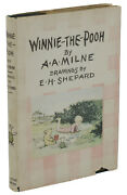 Winnie The Pooh A. A. Milne First American Edition Dj 1st Printing 1926 Aa
