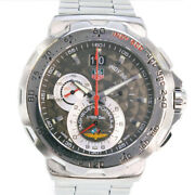 Tag Heuer Formula 1 Indy 500 Cah101a Stainless Steel Quartz Menand039s Gray [e0516]