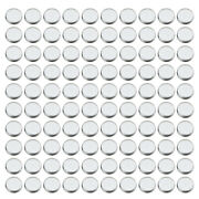 Round Empty Eyeshadow Makeup Tins Pans For Magnetic Palette Box 100pcs/pack