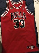 Scottie Pippen Nike Chicago Bulls Nba Road Jersey With Finals Patch