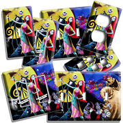 Nightmare Before Christmas Jack And Sally Light Switch Outlet Plates Room Decor