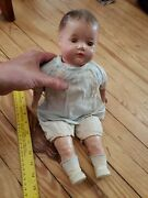Antique Vintage Porcelain Baby Doll Creepy Victorian Toys Scary Movie Prop
