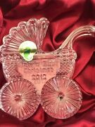 Waterford Crystal Babyand039s First Christmas Carriage 2012 Ornament