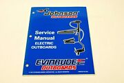 Johnson Evinrude Service Manual Electric Outboards 520201