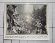 East London Cemetery Chinese Placing Food And Money On Graves 1909 News Clipping