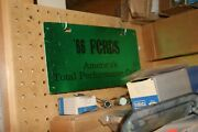 Nos 1966 Total Performance Ford Mustang Promotional Dealer License Plate. Cool