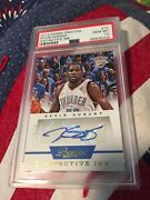 Kevin Durant 2013/14 Prestige Distinctive Ink 15 Auto 05/75 Warriors Psa 10 Gem